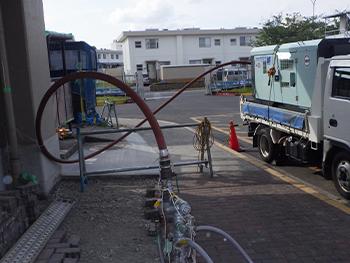 給水管更生工事